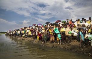 [로힝야 난민 긴급구호] 또 한 번의 재난, 로힝야 난민촌에 닥쳐온 위기