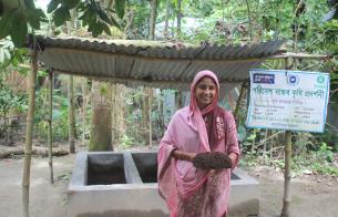 [세계 식량의 날] 방글라데시 시골 마을의 '행복한 텃밭'