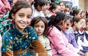 옥스팜이 있는 곳이라면 어디든 행복한 '어린이 세상' 입니다.