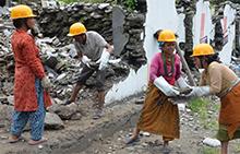 옥스팜이 재난에 대비하는 방법 : DRR(재난피해감소)프로그램