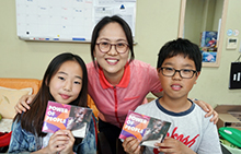 학생들이 만들어가는 기부문화, 명현 초등학교 다문화 장터!